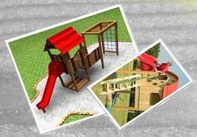 tobogani in hišice