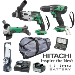 Akumulatorski profi set 14 V Hitachi