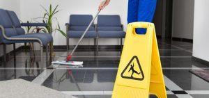 Učinkovito čiščenje poslovnih prostorov