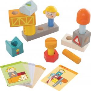 Lesene igrače imajo prednost pred telefonom in tablico