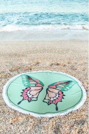 Brisače za na plažo za bronasti ten